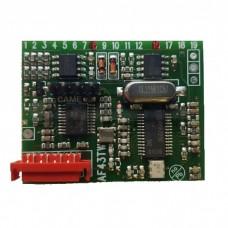 Радиоприемник встраиваемый  433.92 МГц. CAME AF43TW