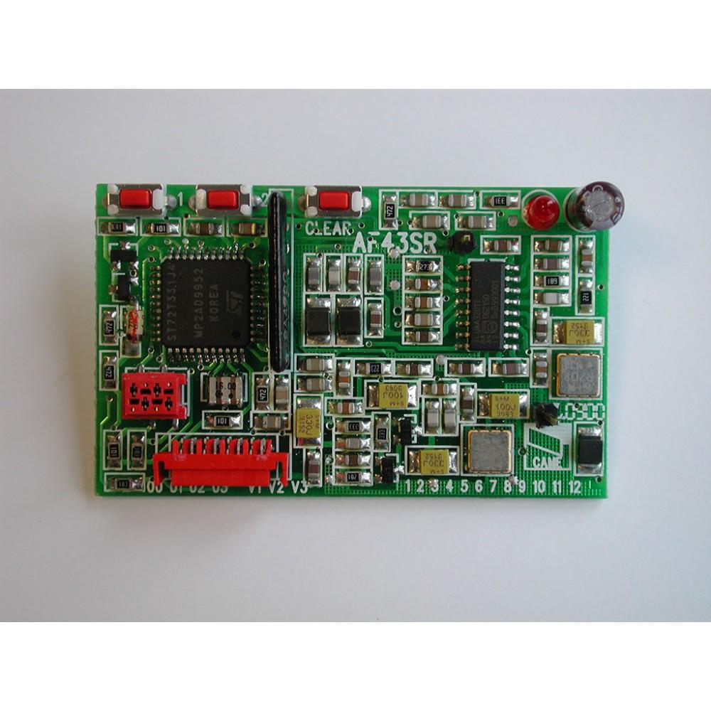 Радиоприемник встраиваемый для брелоков с динамическим кодом CAME AF43SR